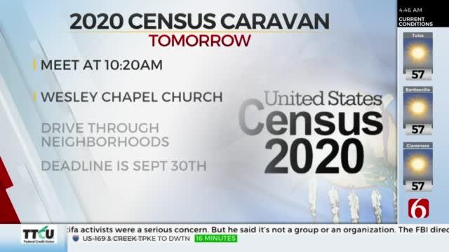 Group Holding '2020 Census Caravan'