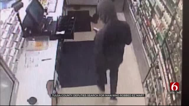 Tulsa Co. Deputies Searching For Man They Say Robbed EZ Mart With Gun