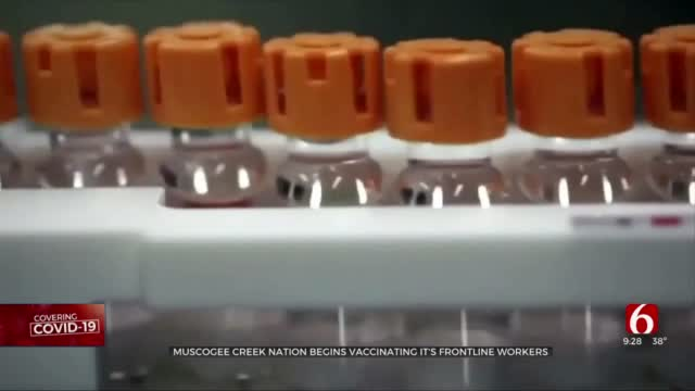 Muscogee (Creek) Nation Begins To Administer COVID-19 Vaccine