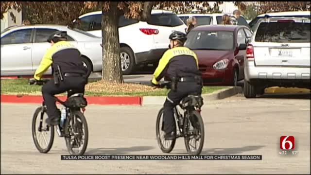 Tulsa Police Boost Presence At Mall For 'Operation Safe Shopper'