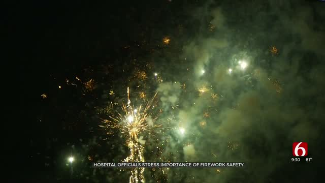 Hospital Officials Stress Importance Of Firework Safety