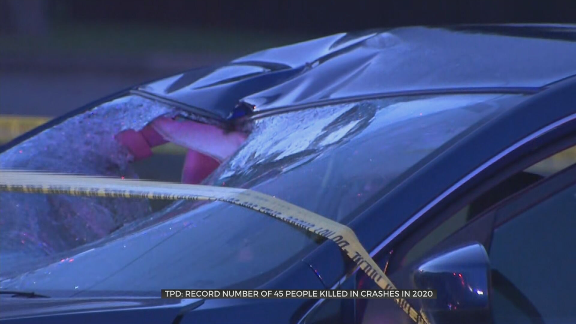 TPD: Record Number Of People Killed In Car Crashes in 2020