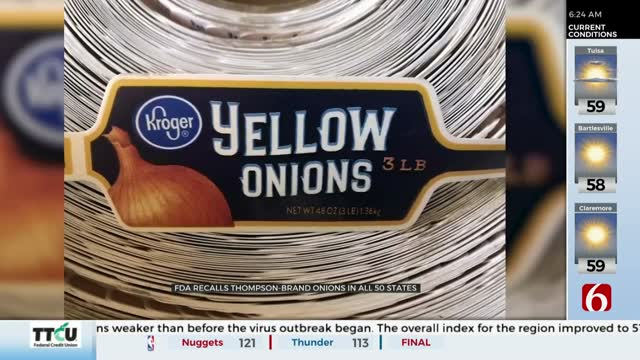 Multiple Onions Recalled Due To Salmonella Outbreak