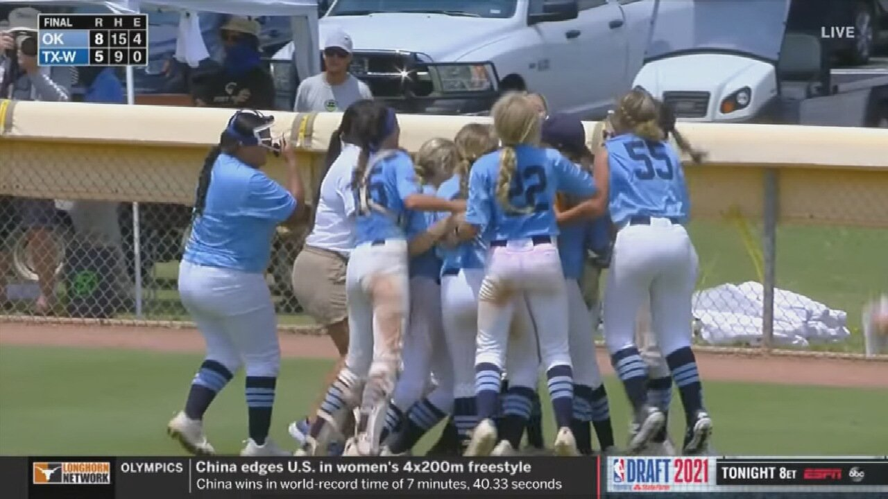 Green Country Softball Team Punches Ticket to Little League Softball World Series