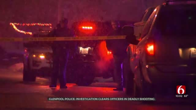 Glenpool Officers Cleared In Shooting Death Of 28-Year-Old