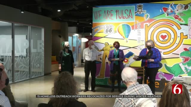 15 Homeless Outreach Workers Recognized For Service During Winter Weather