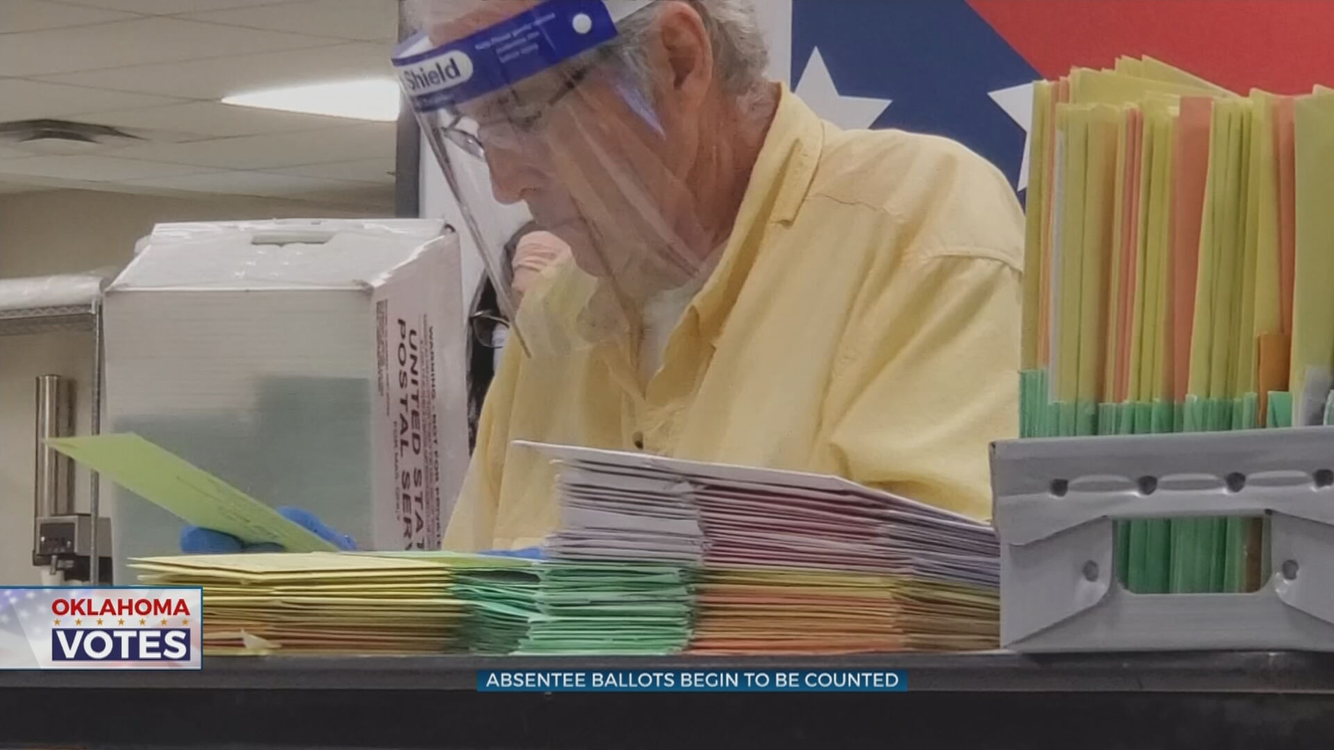 Tulsa County Election Board Starts Counting Absentee Ballots