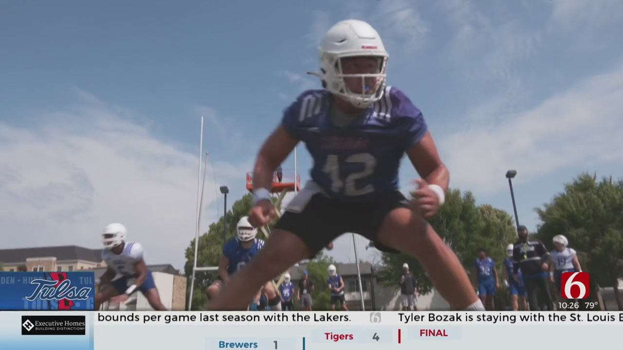Long Snapper Position Has Become Family Business For TU's Adam Higuera