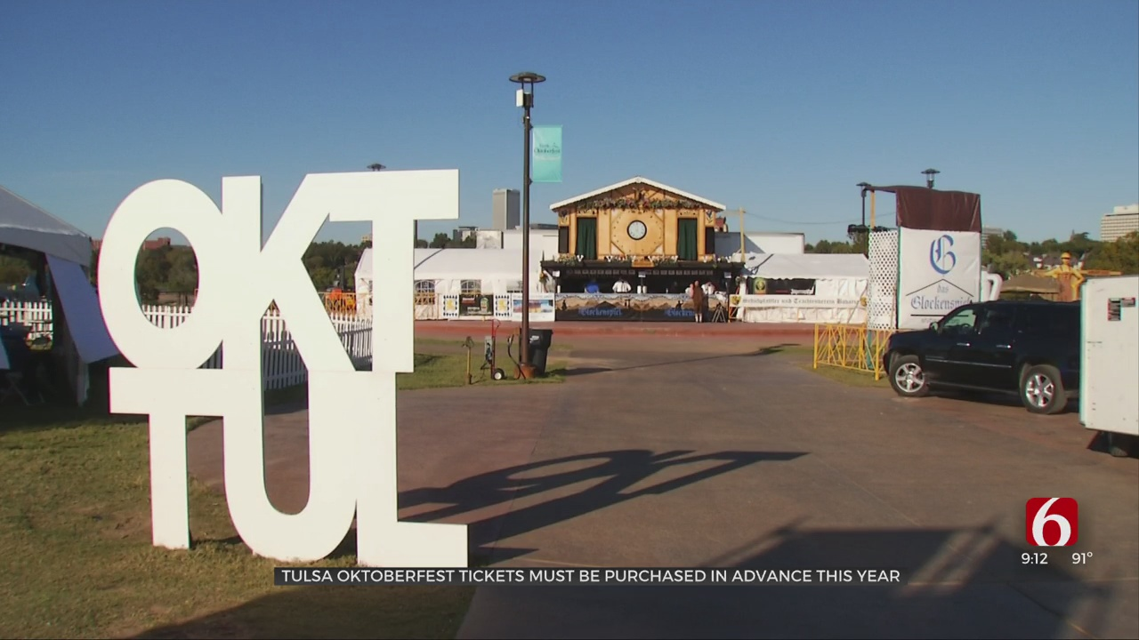 Tulsa Oktoberfest Tickets Must Be Purchased In Advance This Year