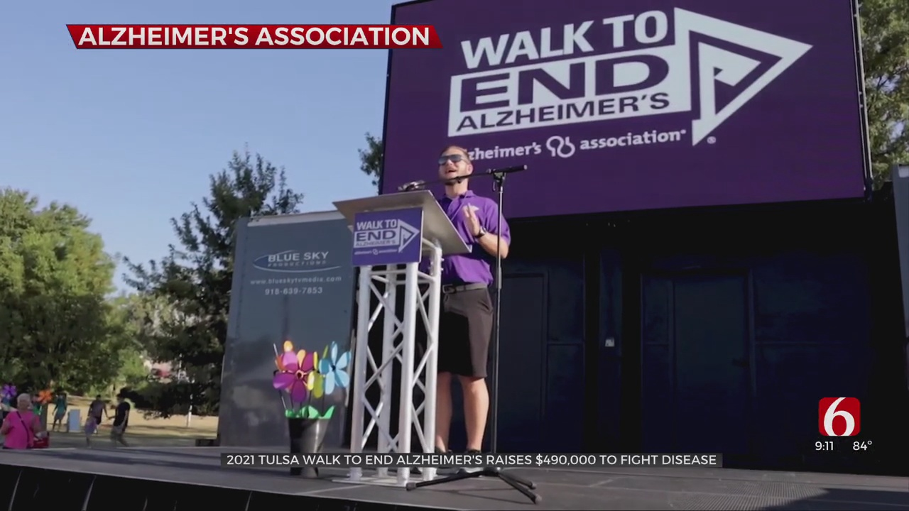 2021 Tulsa Walk To End Alzheimer's Raises $490,000 To Fight Disease