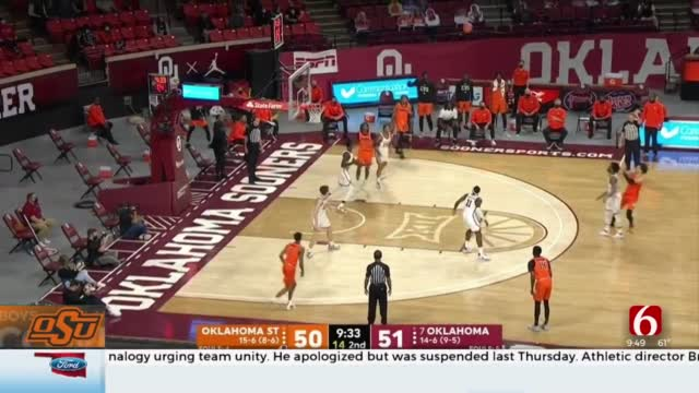 OSU's Cunningham Named Big 12 Player Of The Year