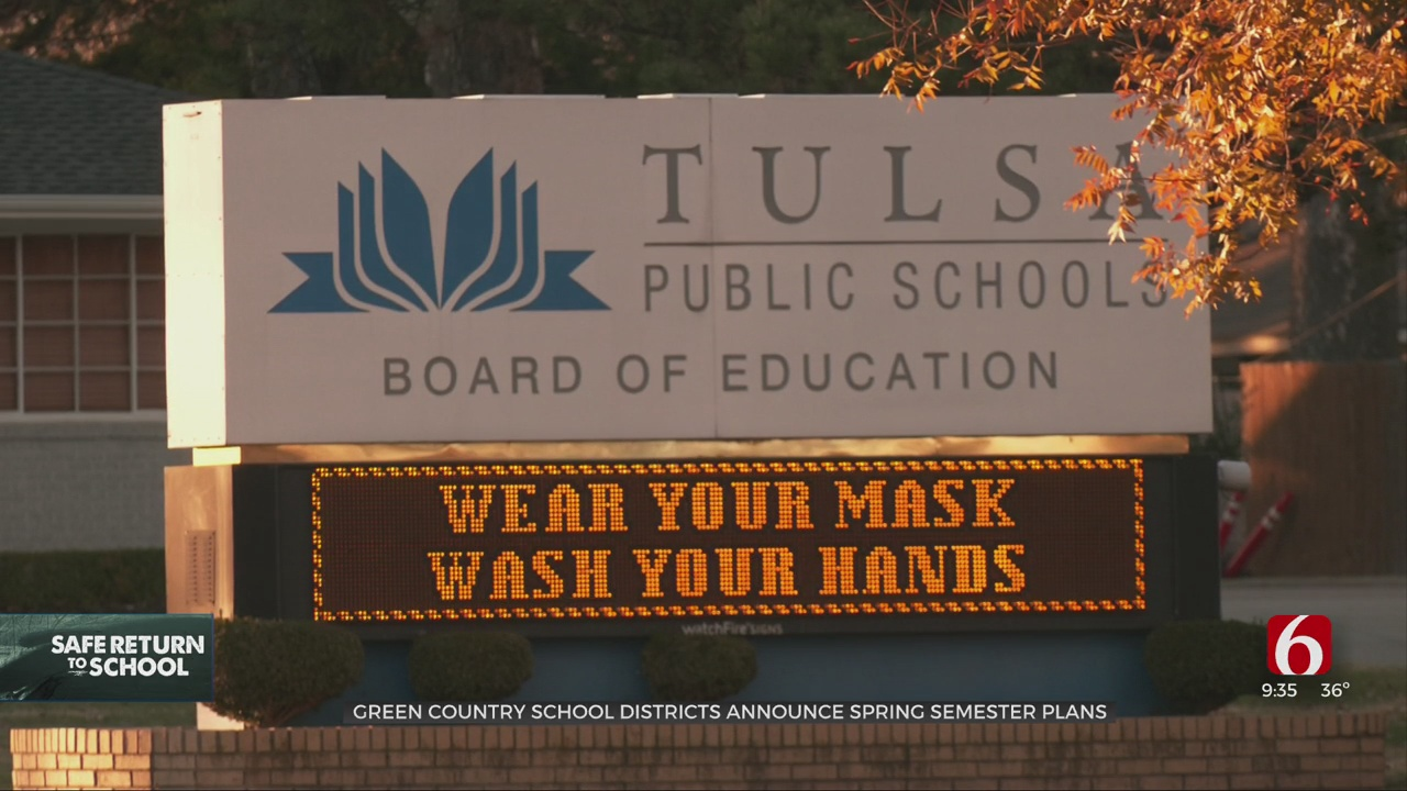 Parents, Teachers Prepare For Spring Semester At Green Country School Districts