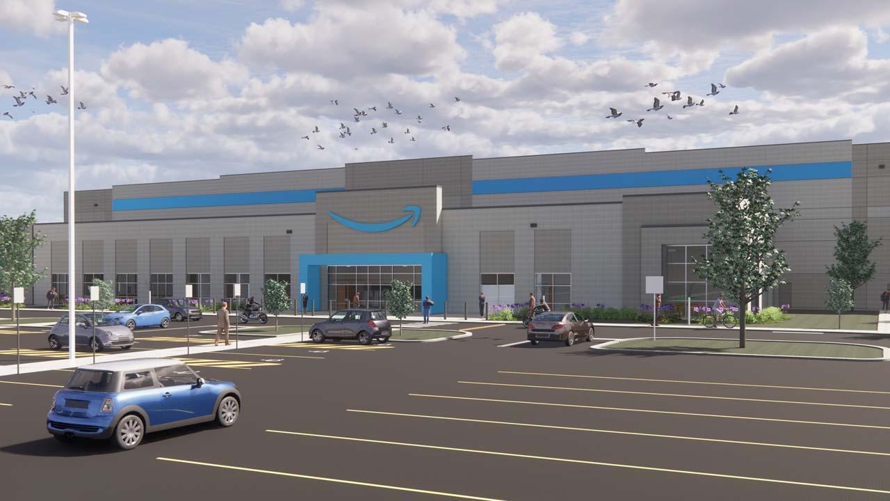 New $32M Amazon Facility Coming To Tulsa