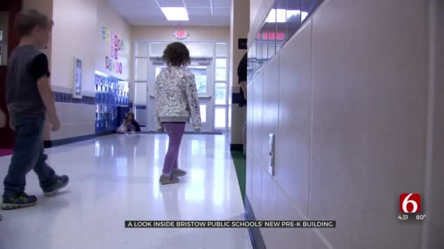 New Pre-K Building Provides More Storm Shelter Space to Bristow Public Schools
