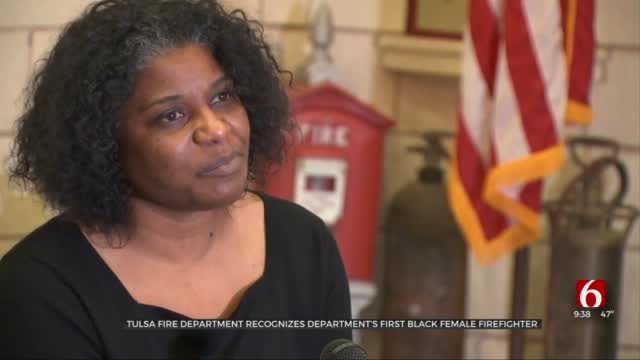 Tulsa Fire Recognizes Department's First Black Female Firefighter