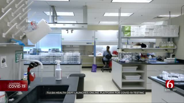 Tulsa Health Dept. Launches Online Scheduling For COVID-19 Testing