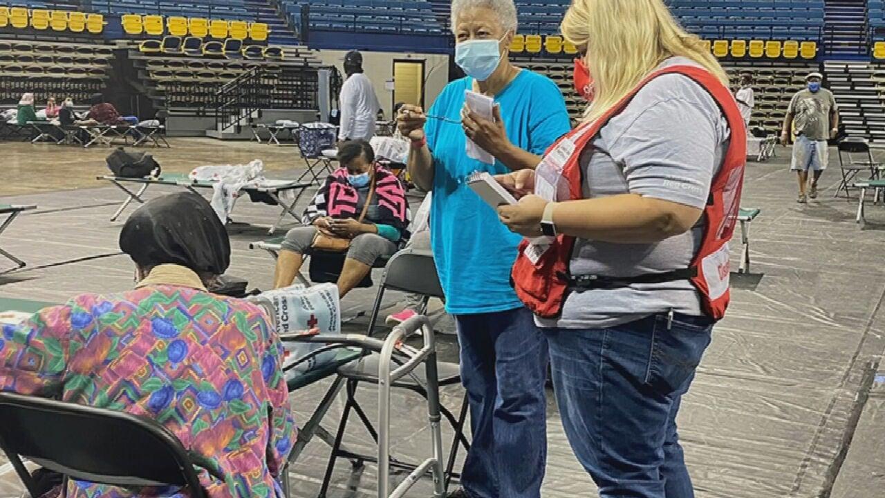 Oklahomans Volunteering With Red Cross Along Gulf Coast As Ida Slams Louisiana