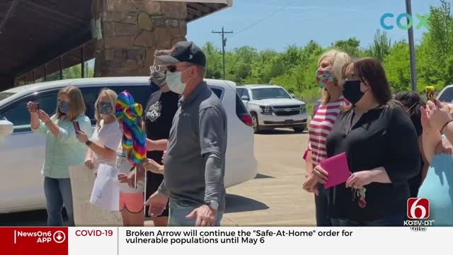 Cleveland Woman Celebrates 95th Birthday With Special Parade