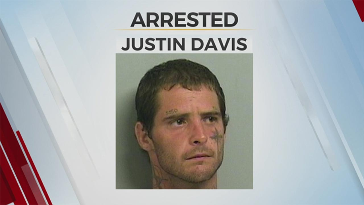Tulsa Man Arrested For Trying To Steal A Fire Truck