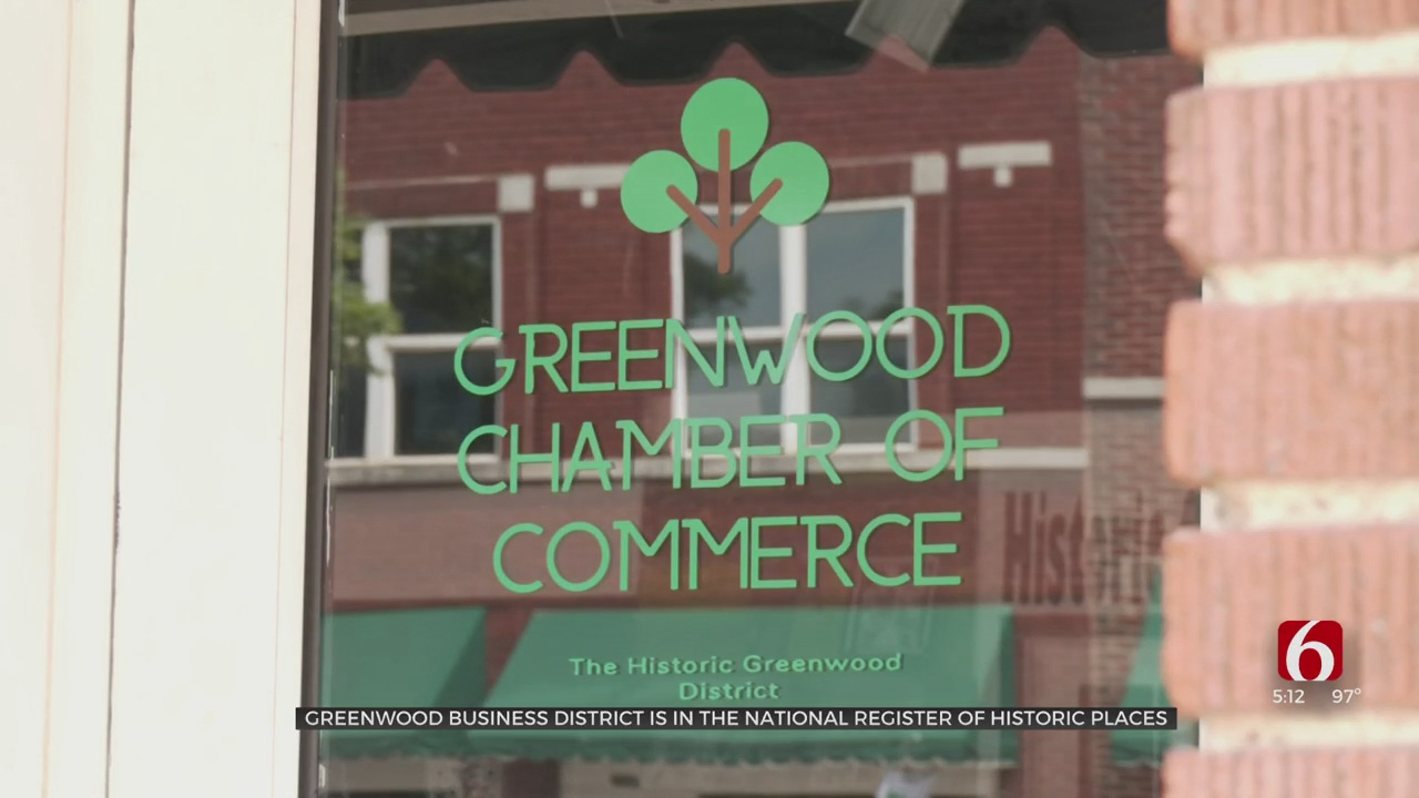 Greenwood Chamber Of Commerce Celebrates District's Recognition As Historical Site