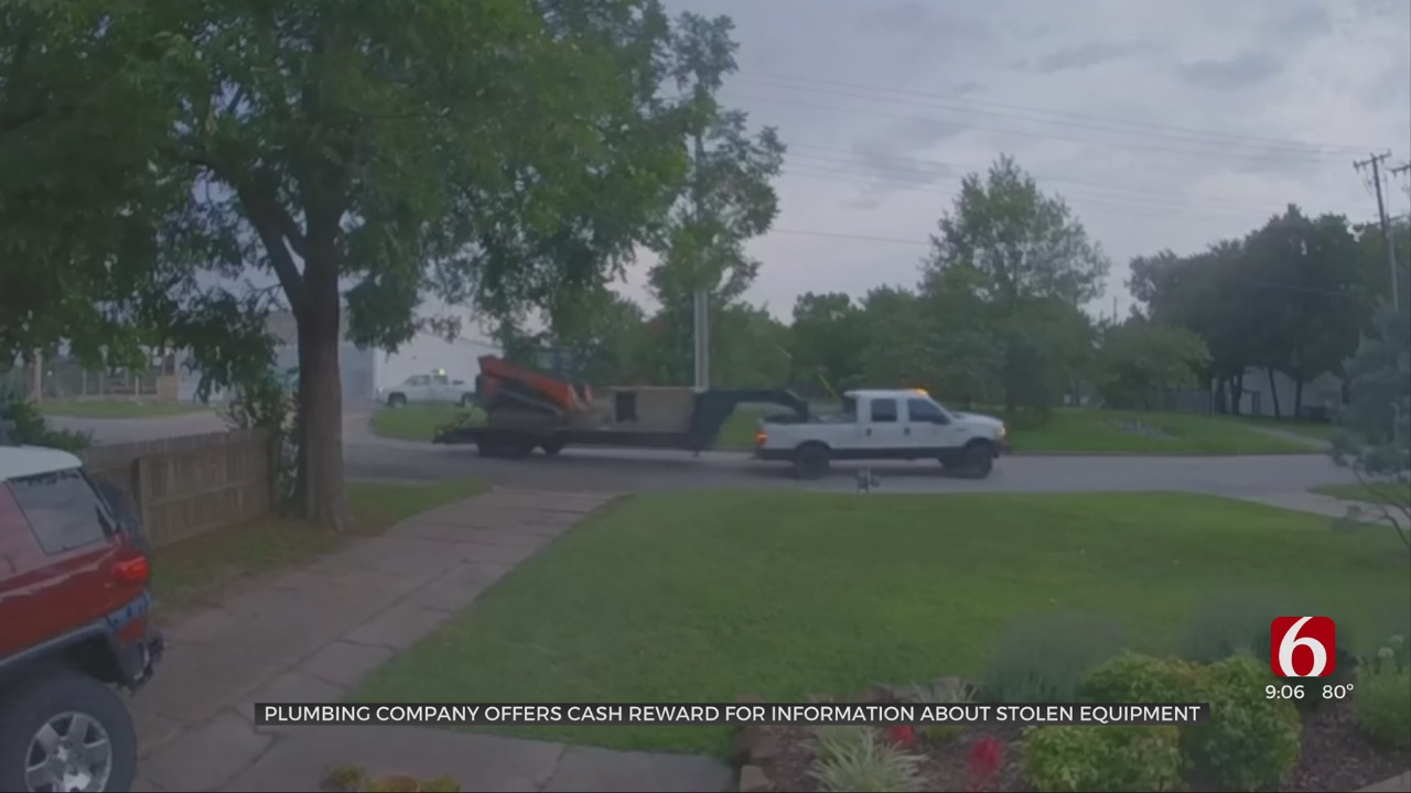 Family-Owned Company Offering $7,500 Reward After Plumbing Equipment Stolen