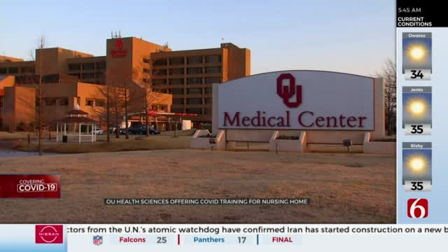 OU Health And Sciences Center To Train Nursing Home Care Providers On COVID-19 Safety
