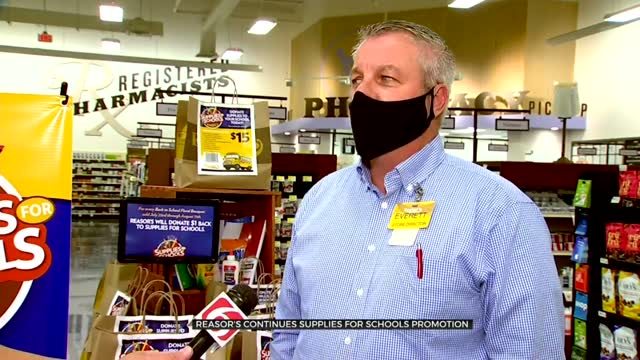 Reasor's Accepting 'Supplies For Schools' Donations At All Locations