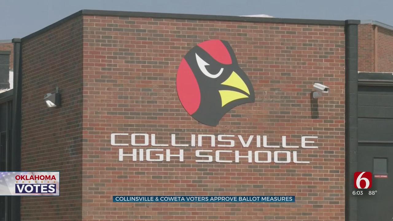 Voters Approve Collinsville School Bond, Coweta Sales Tax Measure