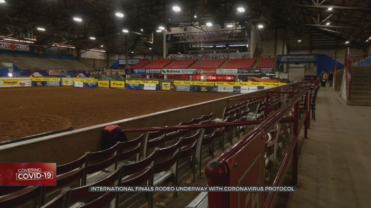 International Finals Rodeo Comes To Oklahoma, Taking COVID-19 Precautions