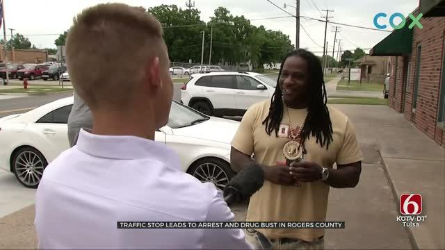 Rogers County Deputies Arrest CA Rapper, Find 4 Pounds Of Marijuana