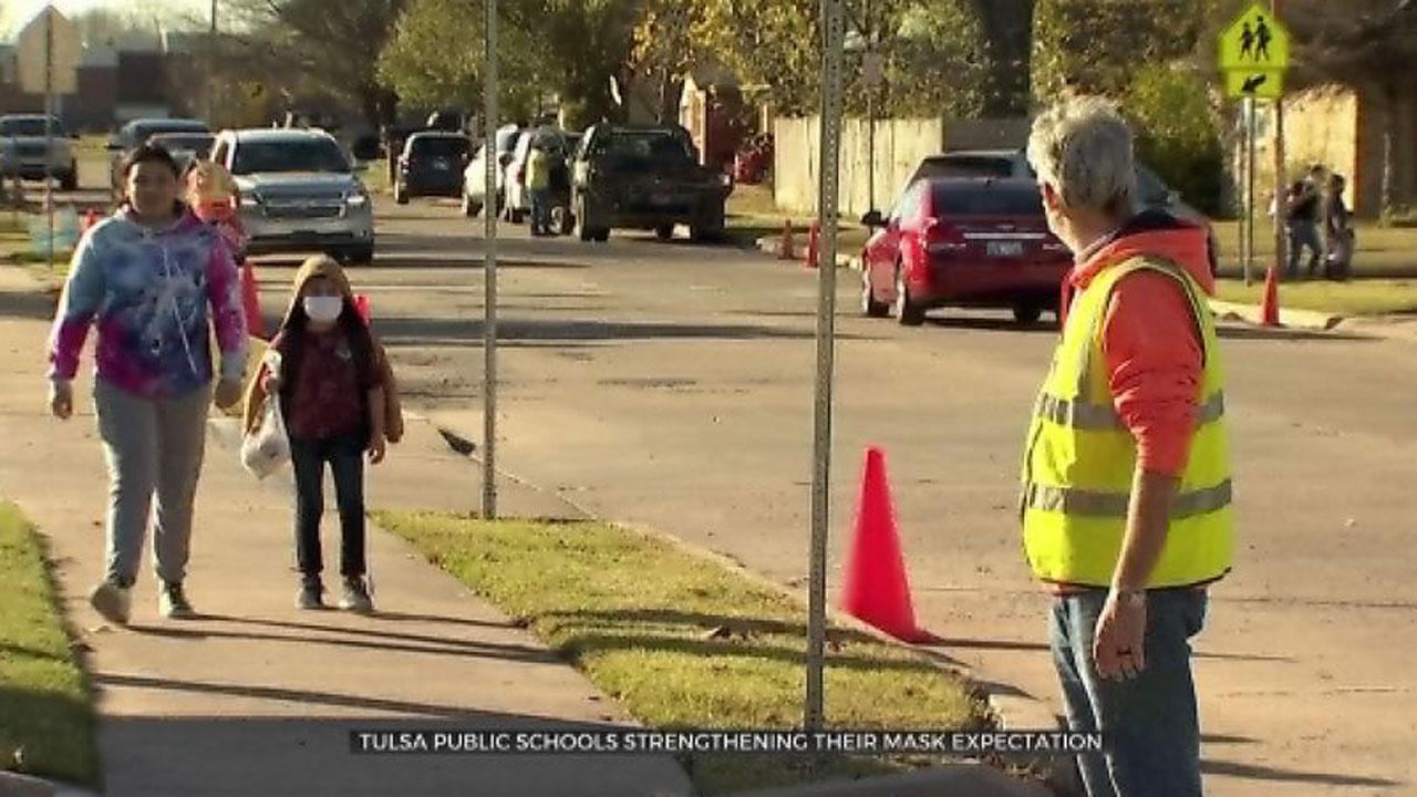 Tulsa Public Schools' In-School Mask Mandate Starts Tuesday