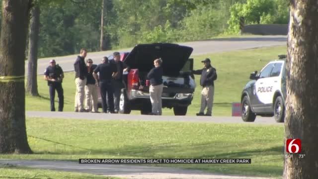 Broken Arrow Police Investigate After 2 Men Found Dead In Haikey Creek Park