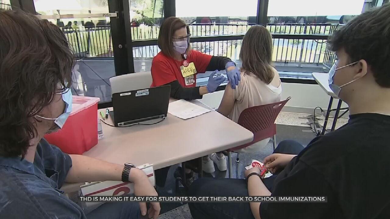 Tulsa Health Department Encouraging Back-To-School Immunizations