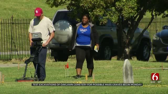 City Of Tulsa Resumes 1921 Mass Graves Test Excavation