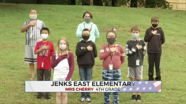 Daily Pledge: Mrs. Cherry's 4th Grade Class