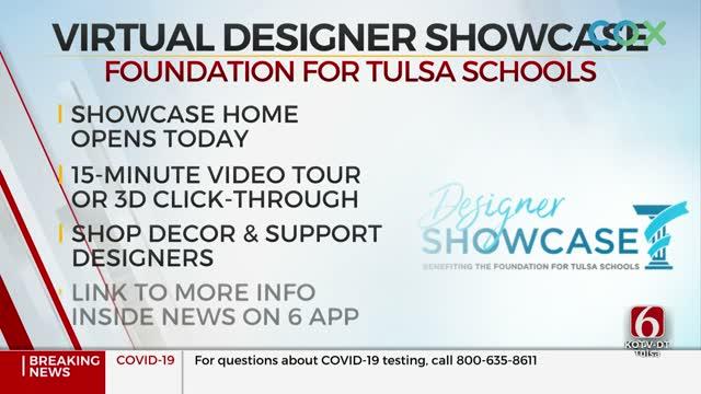 Foundation For Tulsa Schools' Designer Showcase Goes Virtual Due To Coronavirus (COVID-19) Pandemic