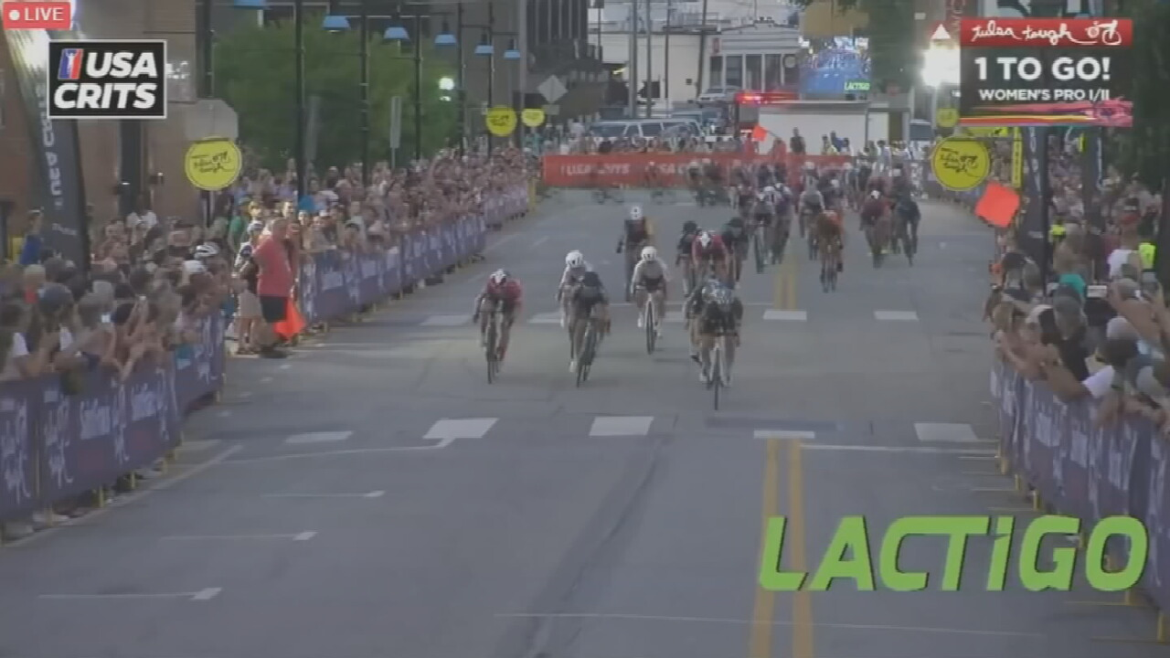 Roads Closed As Day 2 Of Tulsa Tough Begins