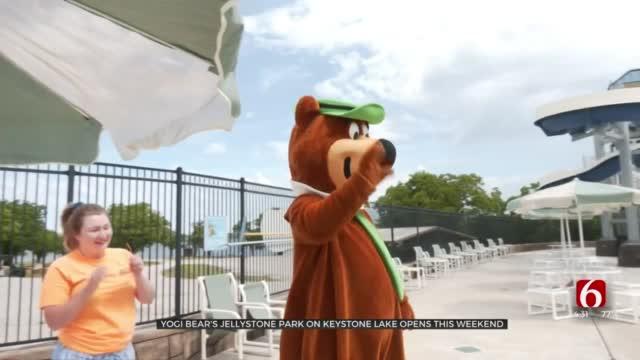 Opening Weekend At Yogi Bear's Jellystone Park At Keystone Lake Set To Make A Big Splash
