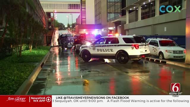 Man Injured After Car Falls From St. Francis Parking Garage
