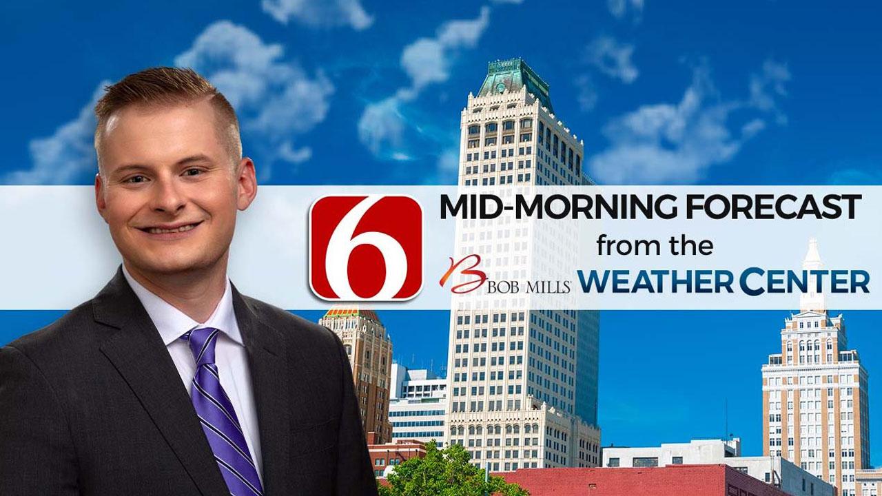 Saturday Morning Forecast With Sawyer Wells