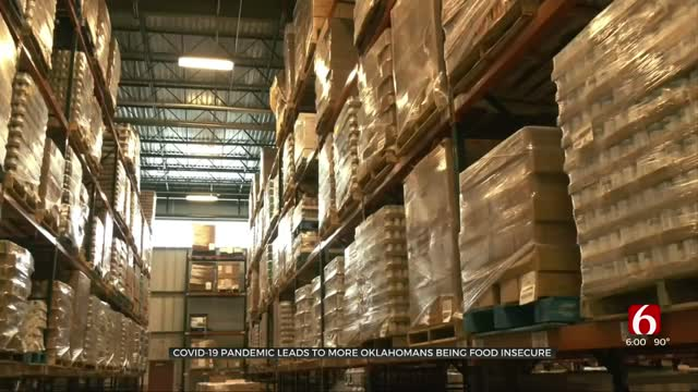 COVID-19 Pandemic Leads To Increased Food Insecurity For More Oklahomans