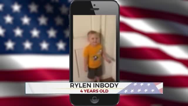 Daily Pledge: 4 Year-Old Rylen Inbody