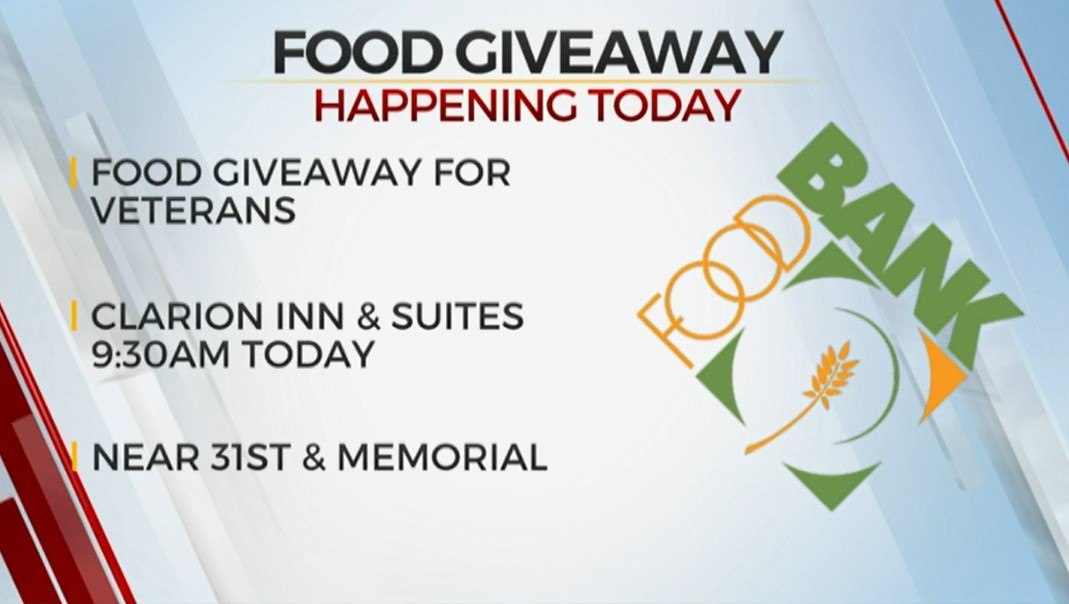 Local Organizations Hold Food Giveaway For Veterans In Need