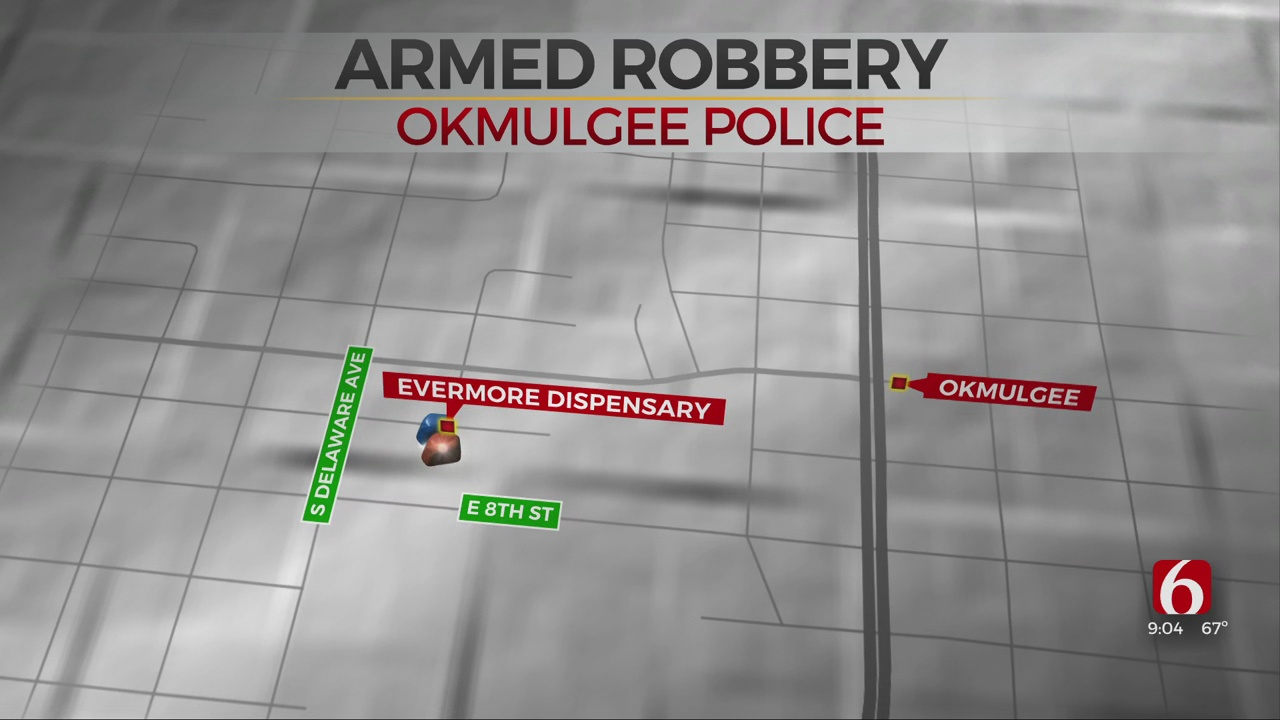 Okmulgee Police Searching For Dispensary Armed Robbery Suspect