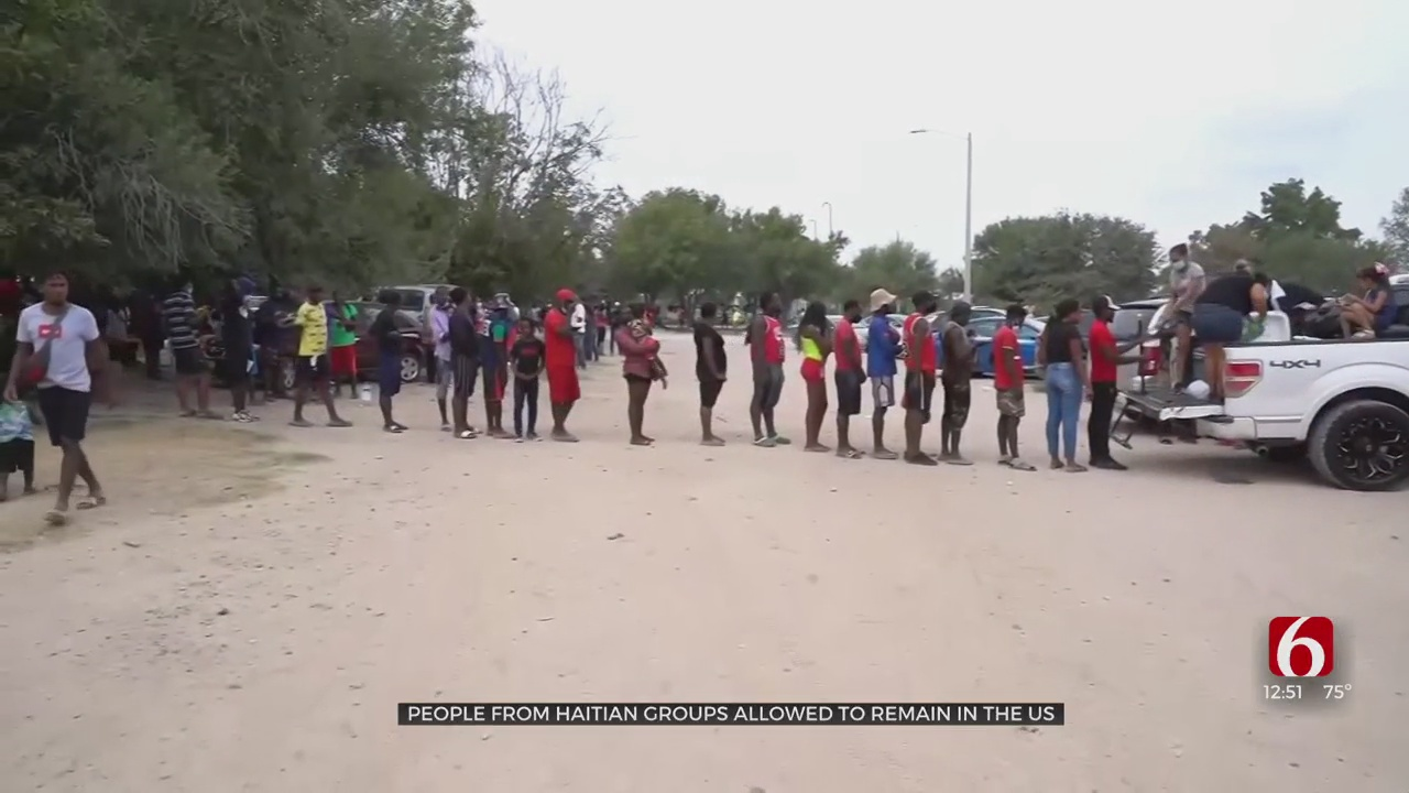 People From Haitian Groups Allowed To Remain In The US