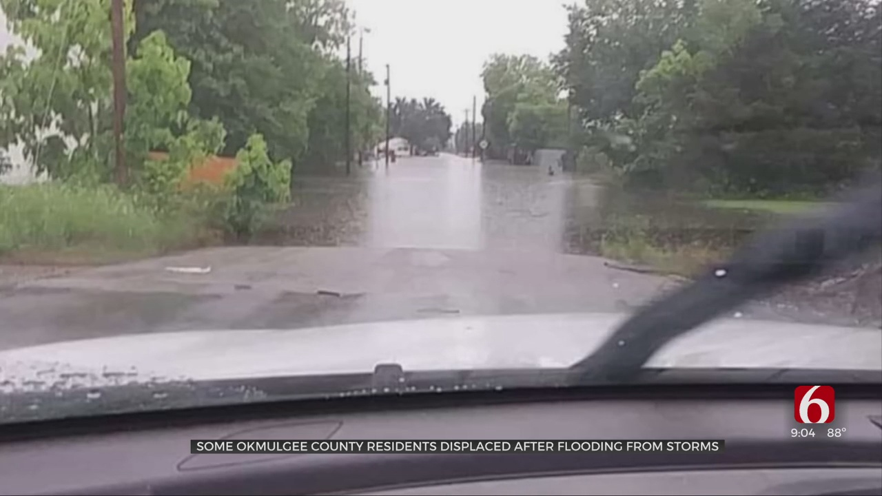 Okmulgee County Residents Still Reeling From Effects Of Severe Storms