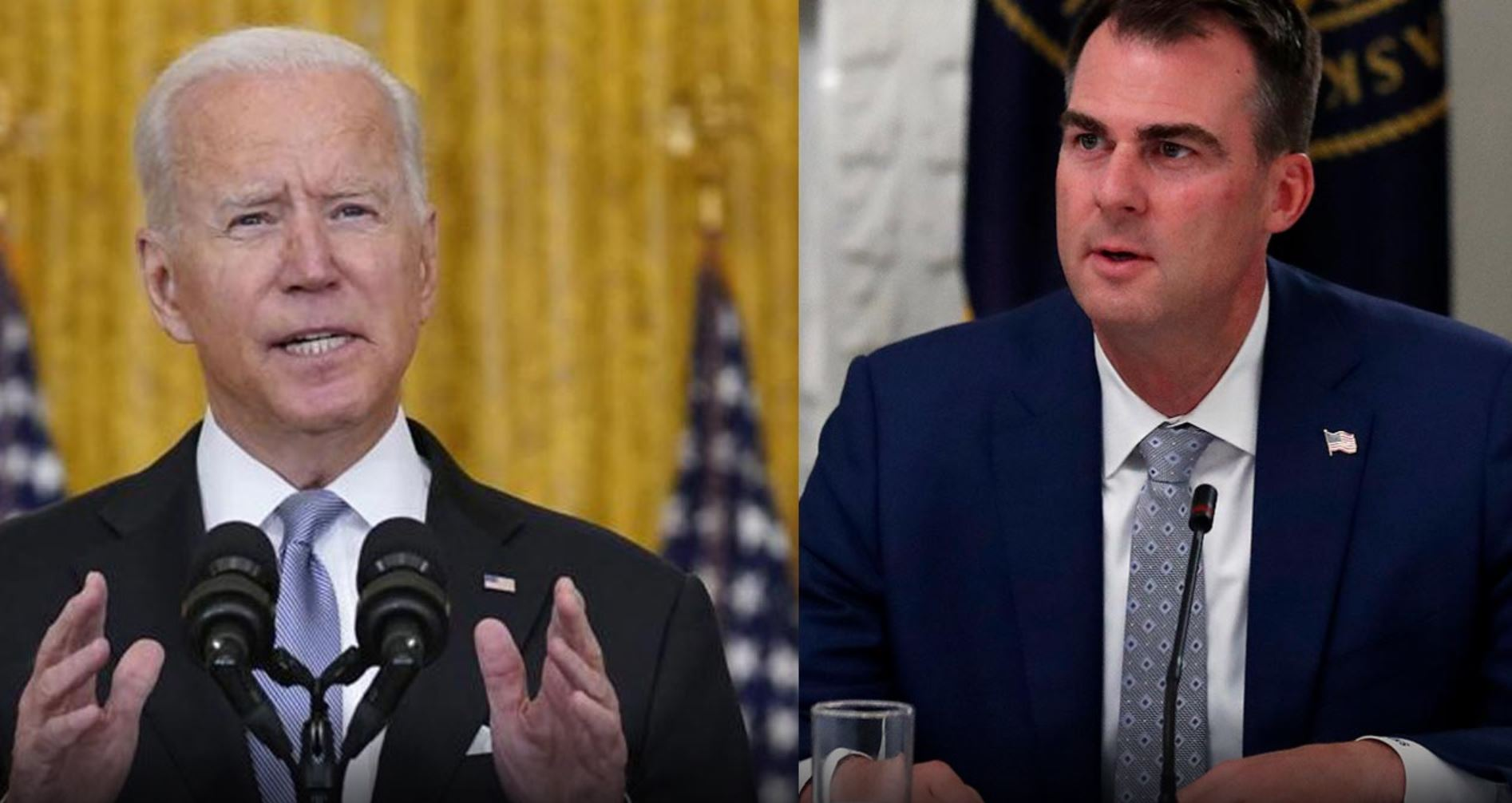 Governor Stitt Responds To Biden: 'There Will Be No Government Vaccine Mandates In Oklahoma'