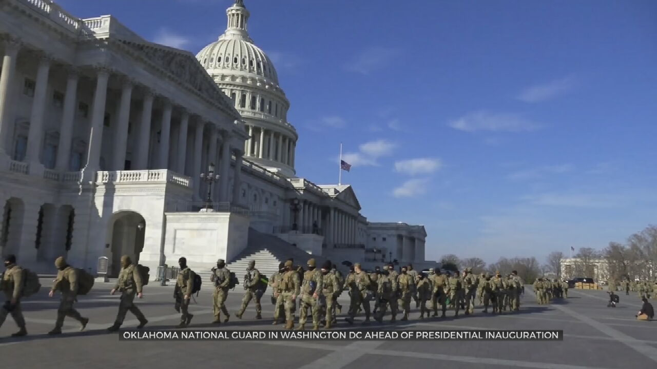 Oklahoma National Guard Headed To Washington D.C. To Support  Presidential Inauguration