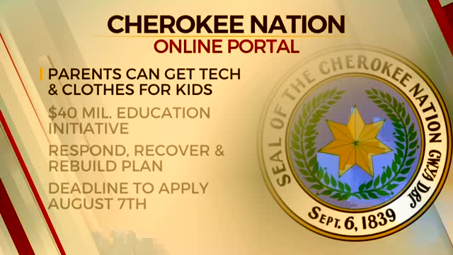 Cherokee Nation Creates Online Space To Aid Parents With Technology, Clothing Relief