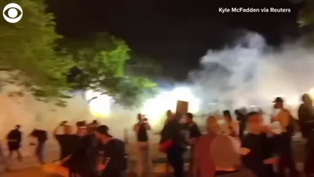 WATCH: Protest Near The White House In Washington, D.C.